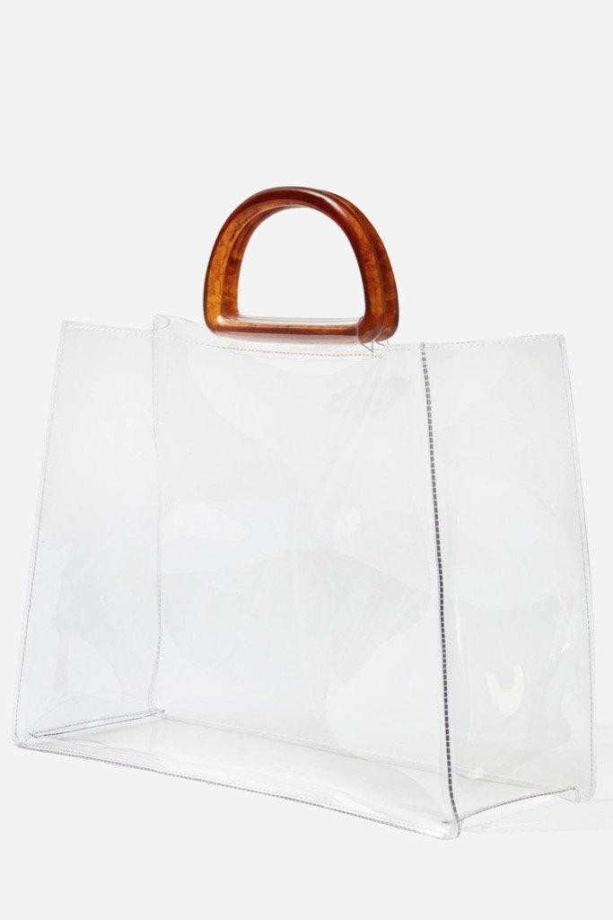 Transparent Large Tote