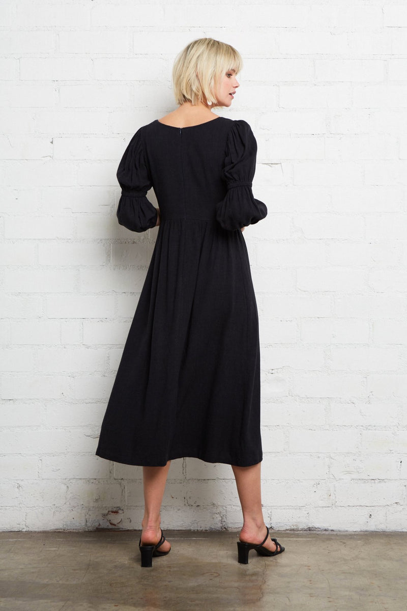 Black Doreen Dress