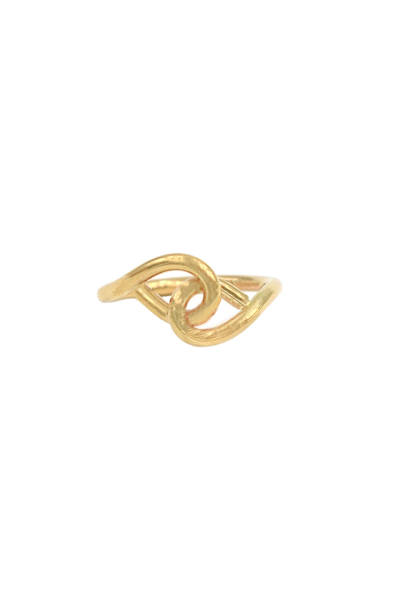 Gold Locker Ring