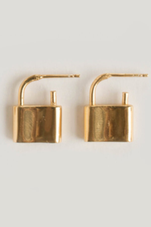 Gold Holmes Earrings