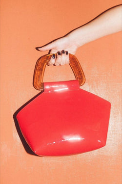 Red Margot Bag