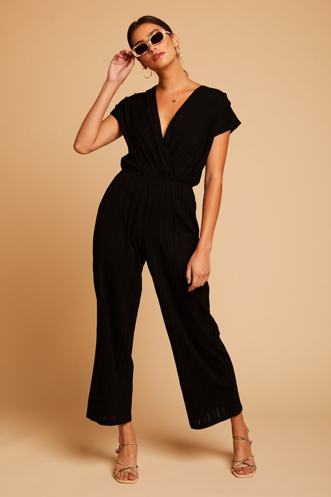 Black Talisa Jumpsuit