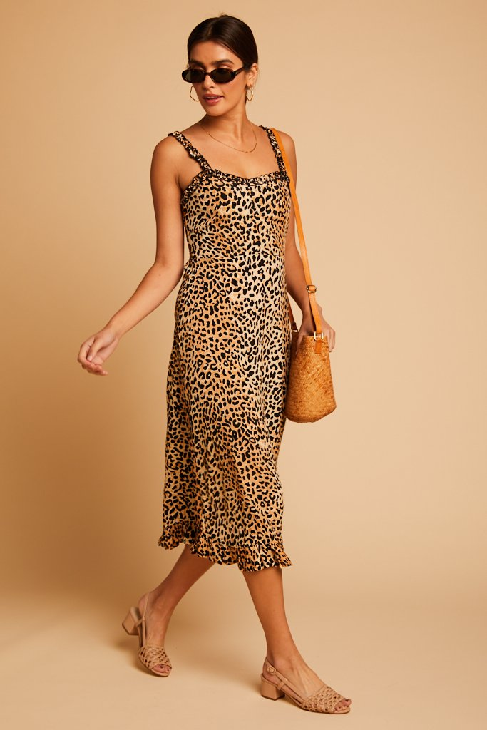 Le Chinq Animal Noemie Dress