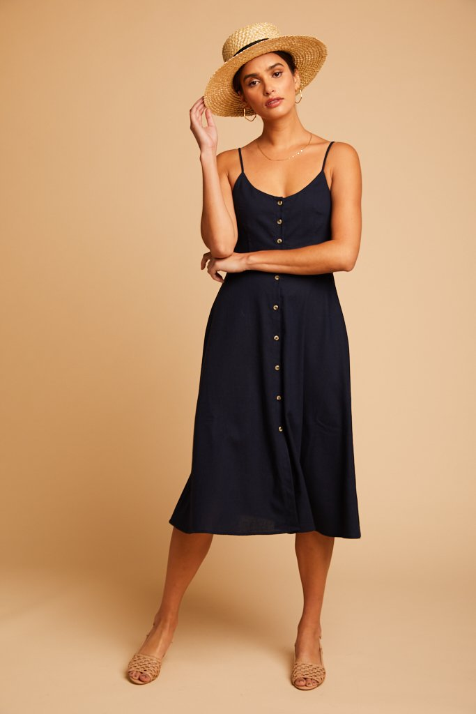 Navy Midsummer Dress