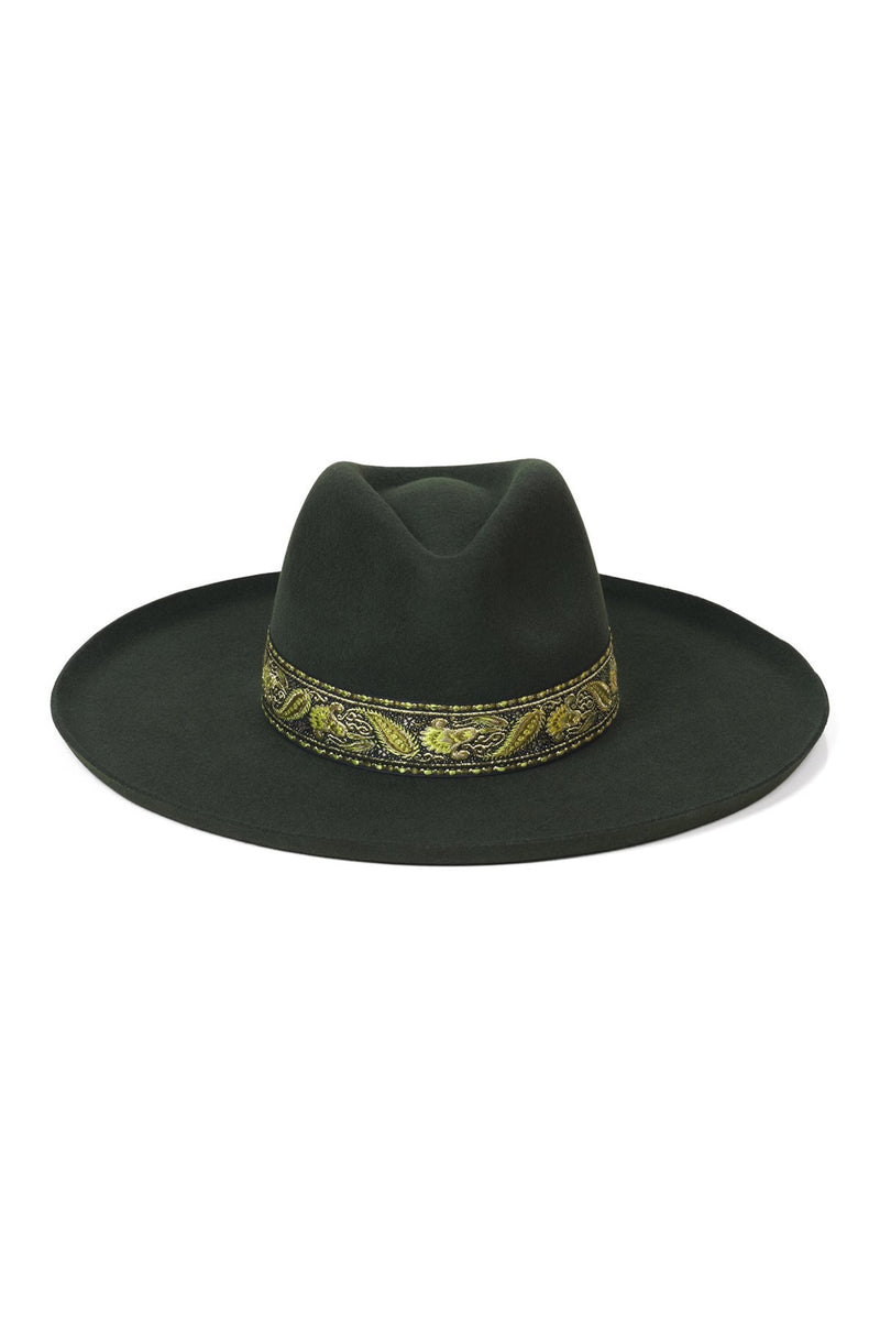 Forest Green Melodic Fedora