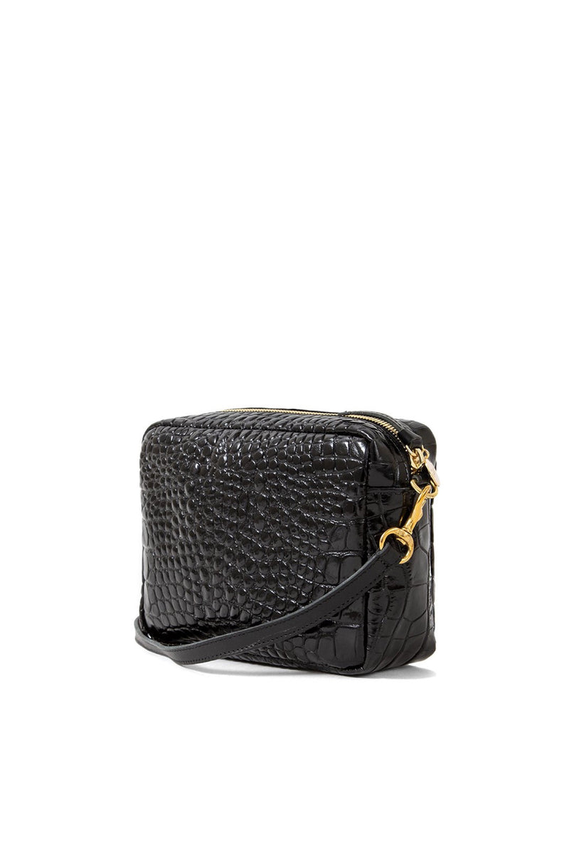 Black Crocco Midi Sac
