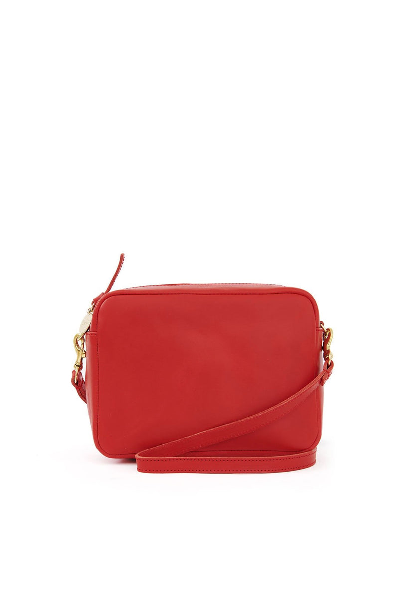 Cherry Red Midi Sac
