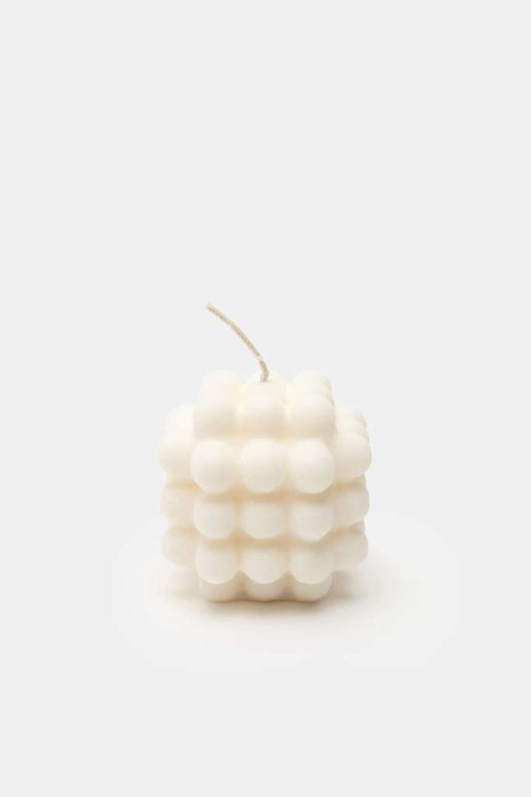 Small Milk Candle