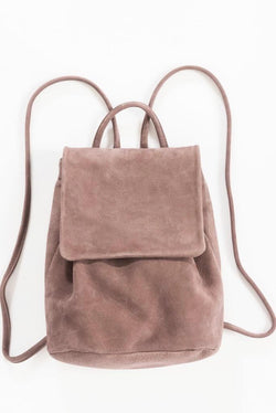 Taro Nubuck Mini Backpack