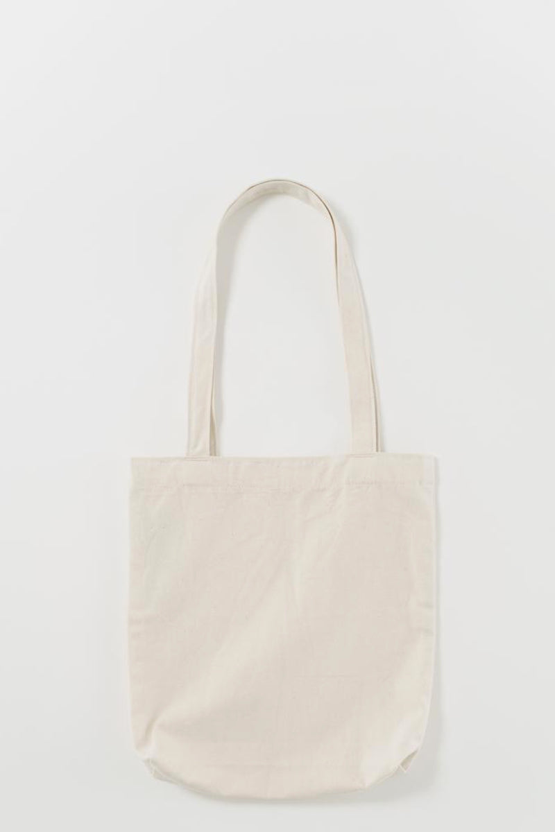 Natural Canvas Mini Merch Tote