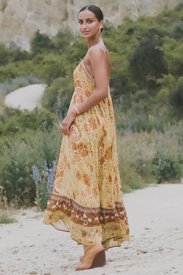 Sunflower Mystic Maxi Dress