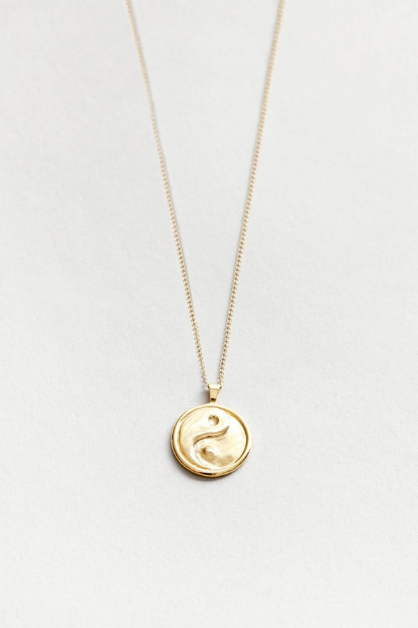 Gold Gravity Necklace