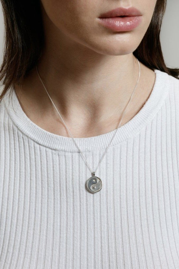Silver Gravity Necklace