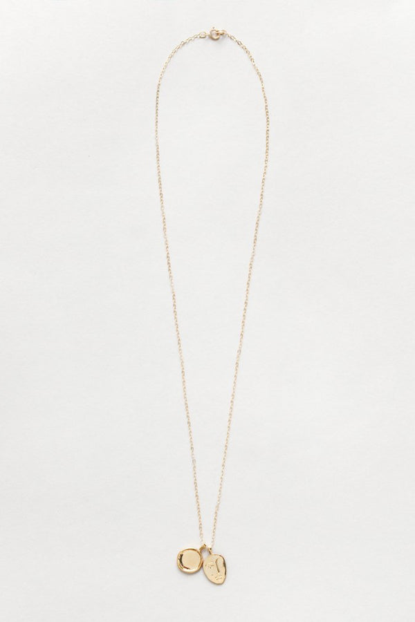 Gold Margerite Necklace