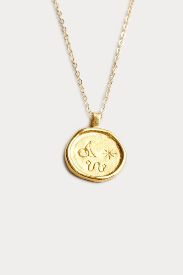 Gold Miro Necklace