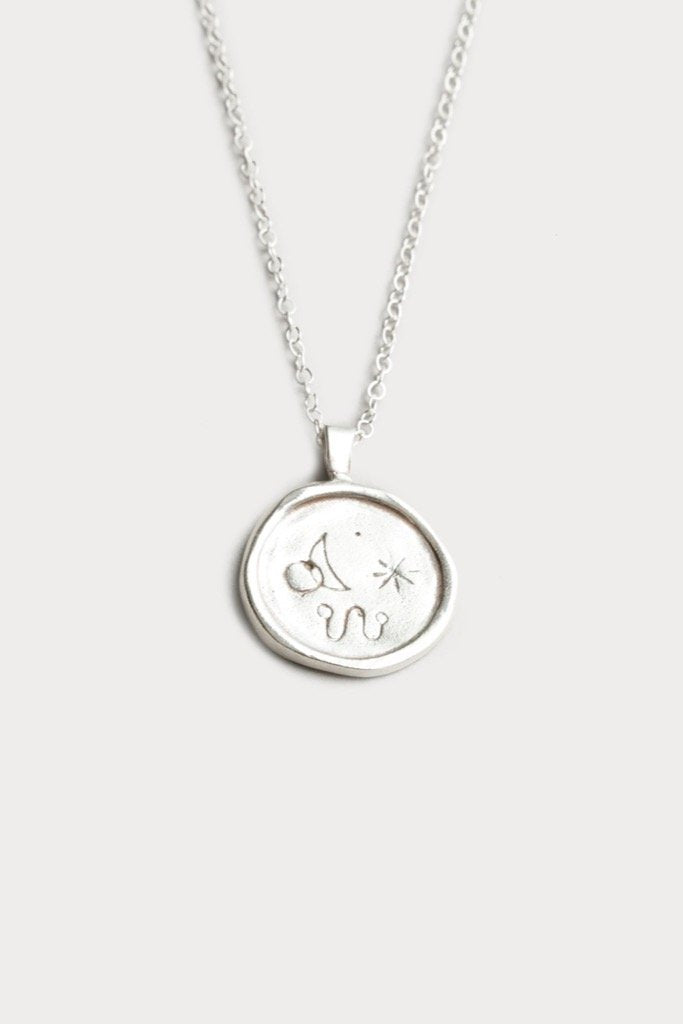 Silver Miro Necklace