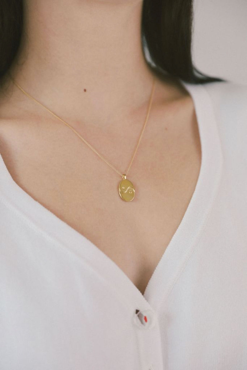 Gold Paxton Necklace