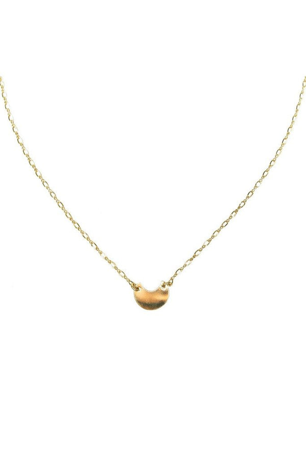 Gold Moonshine Necklace