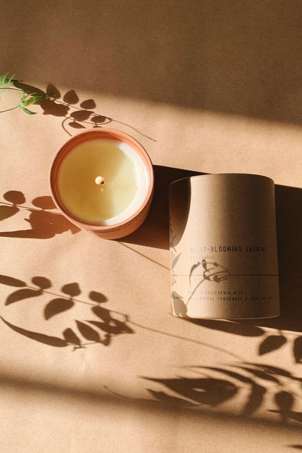 Terra Night Blooming Jasmine Candle