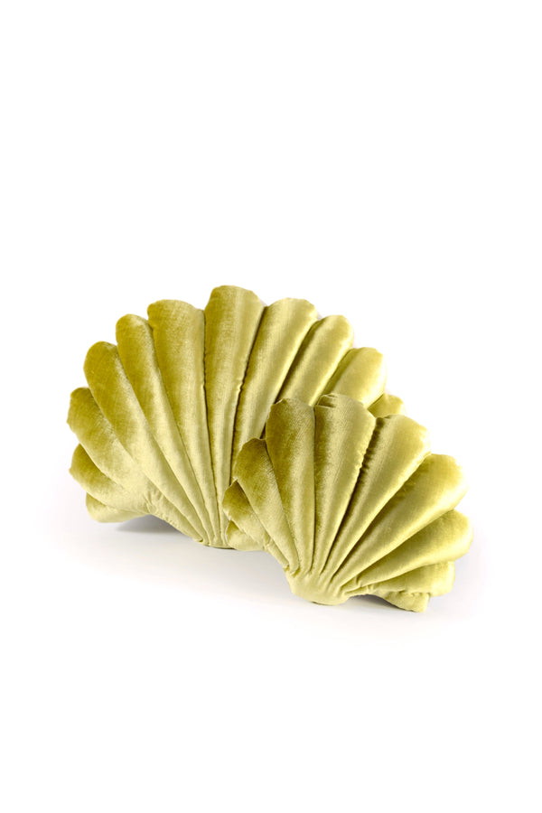 Chartreuse Shell Pillow