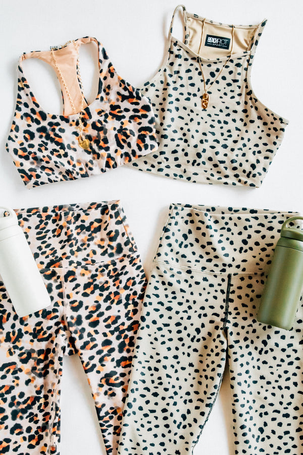 Watercolor Leopard Piper Legging