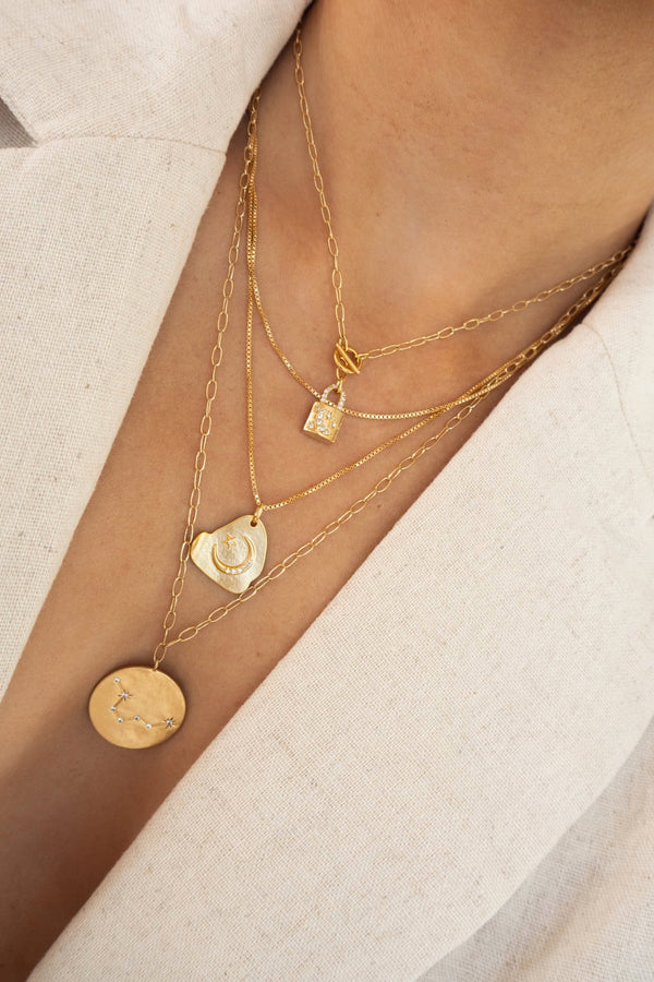 Gold Sloan Necklace