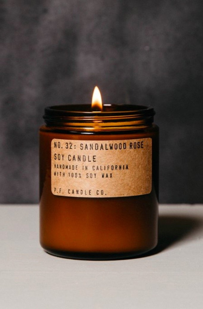 Sandalwood Rose Candle
