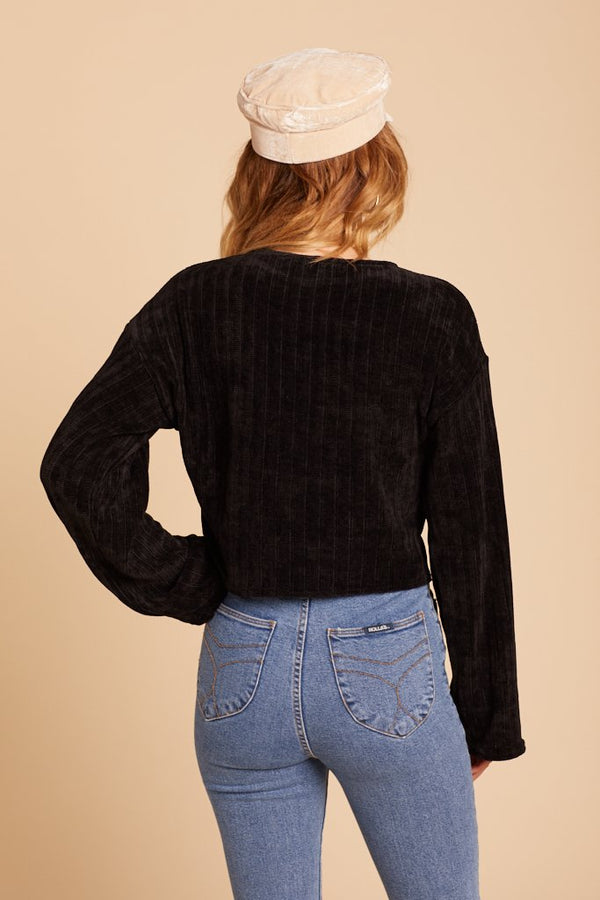 Black Aspen Sweater