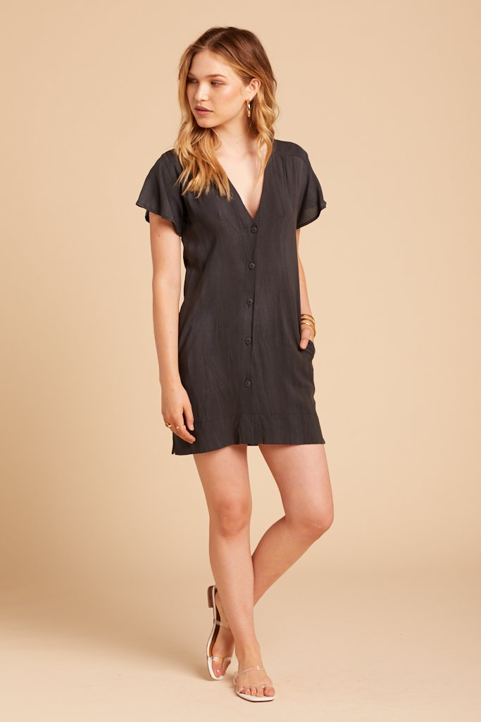 Washed Black Wildfire Dress