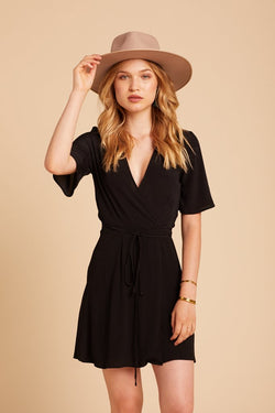 Black Marianne Dress