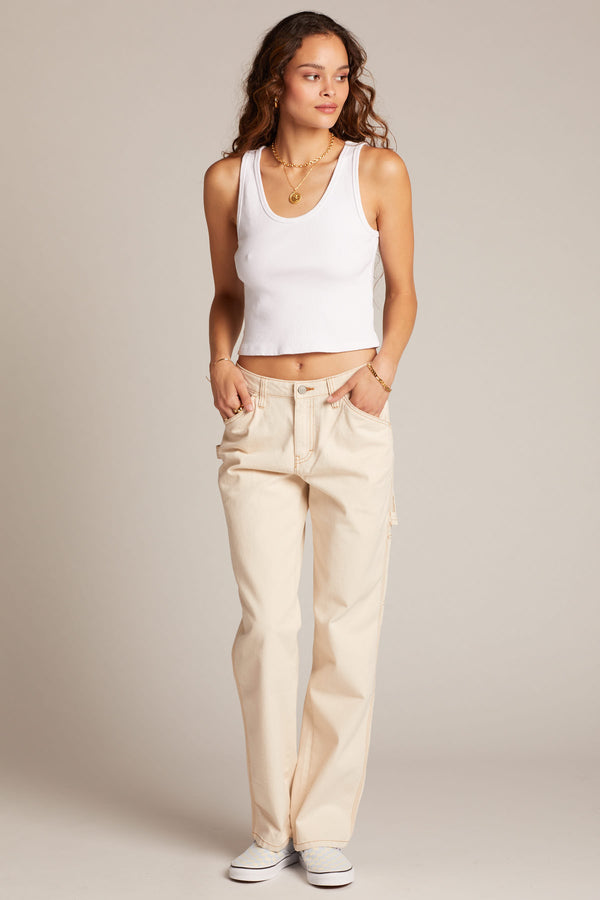 Natural Carpenter Pant