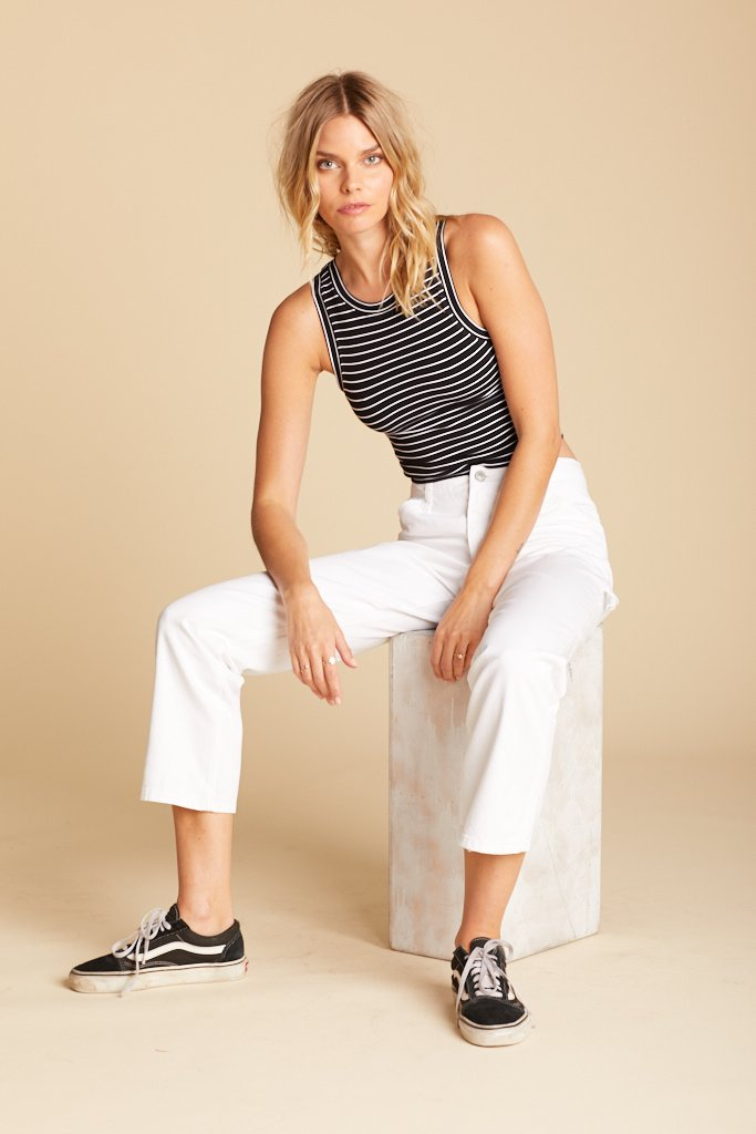 White Carpenter Pant