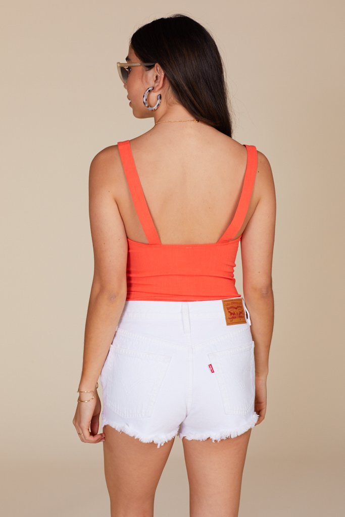 Terracotta Pippa V-Wire Bodysuit