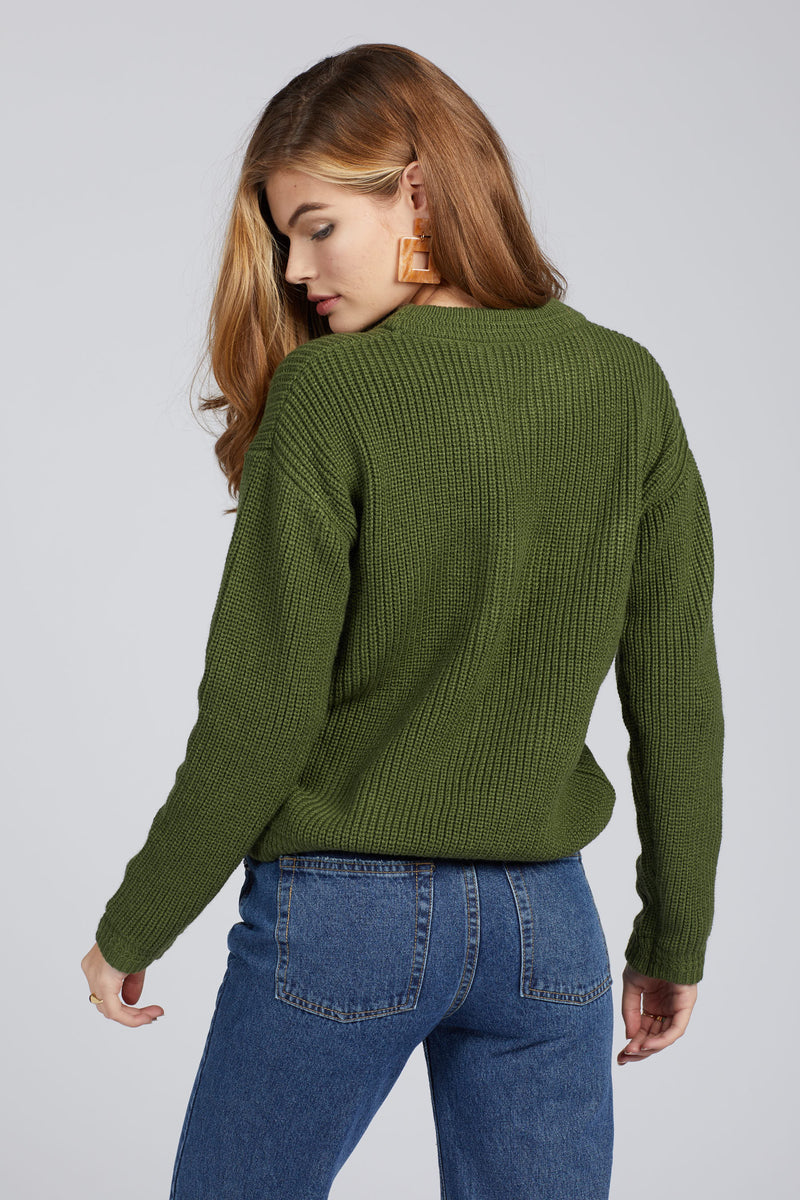 Moss Malone Sweater