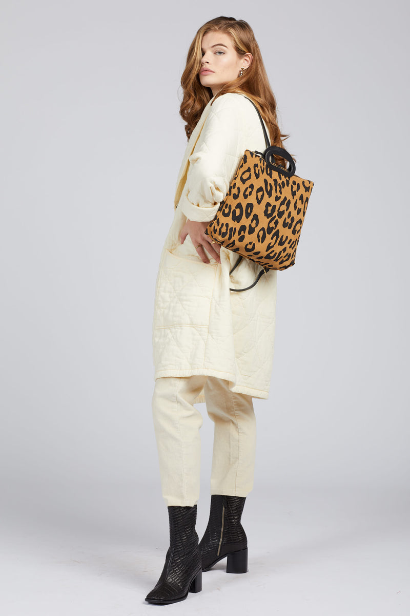 Pablo Cat Suede Marcelle Backpack