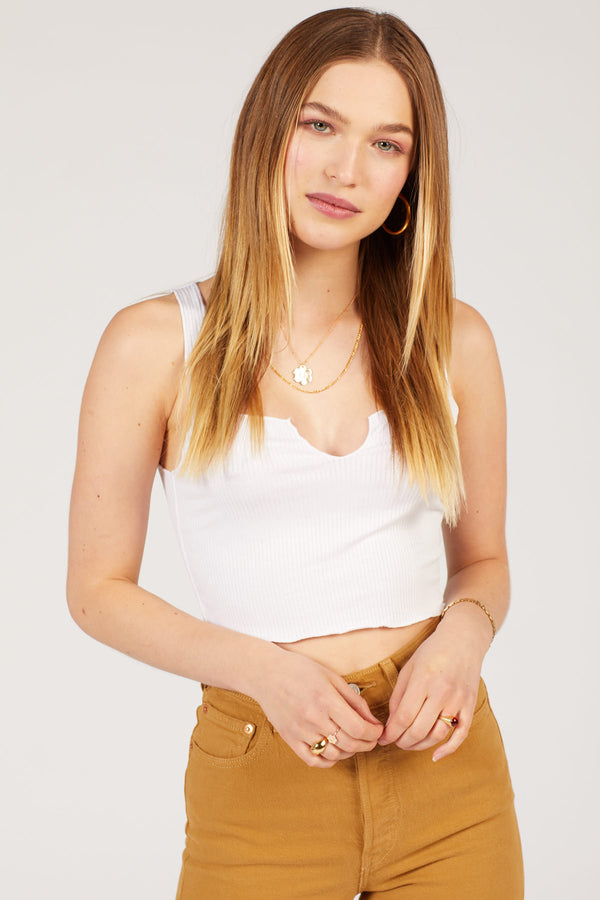 White Top Notch Crop