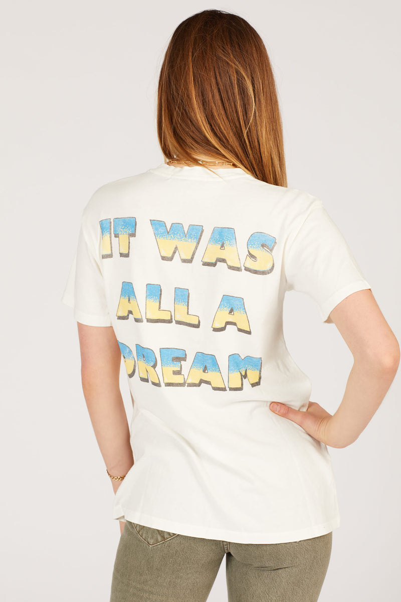 Vintage White Biggie All A Dream Tee