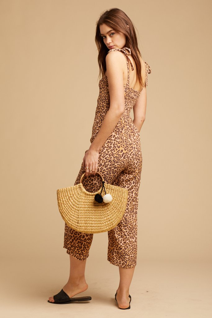 Animal Print Elsa Jumpsuit