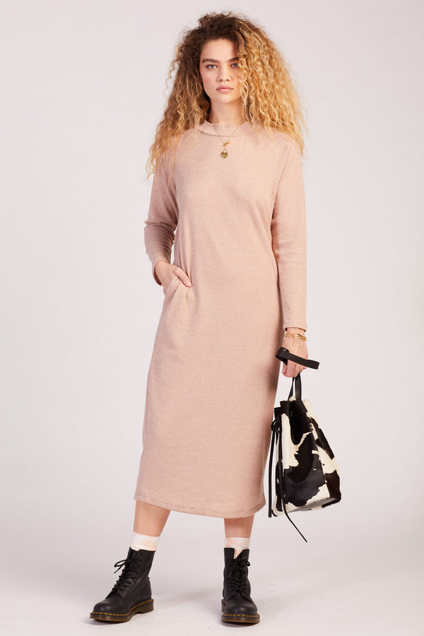 Beige Palma Knit Dress