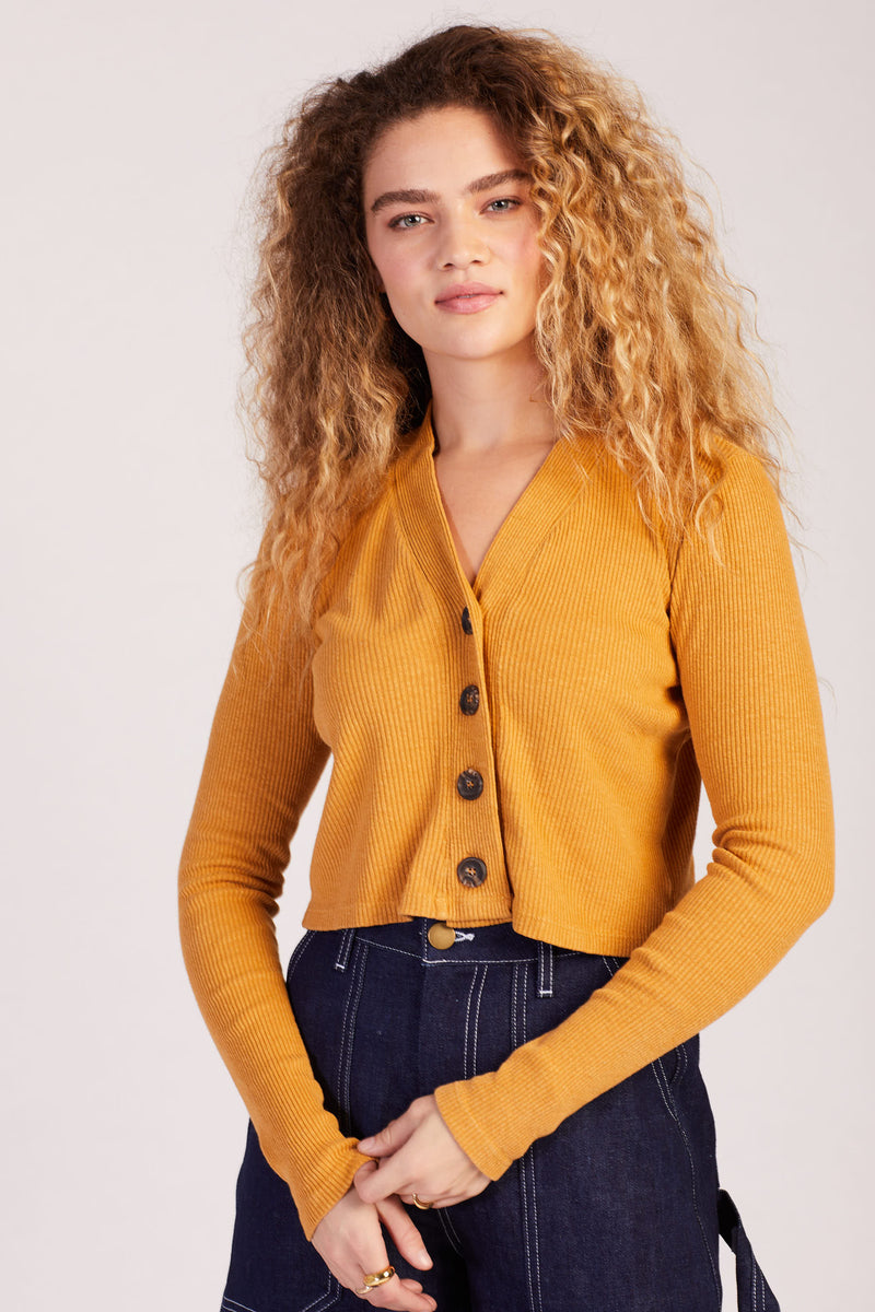 Sunset Shrunken Cardigan