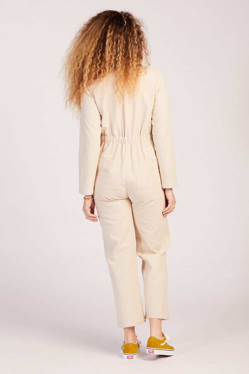 Ecru Shelby Jumpsuit