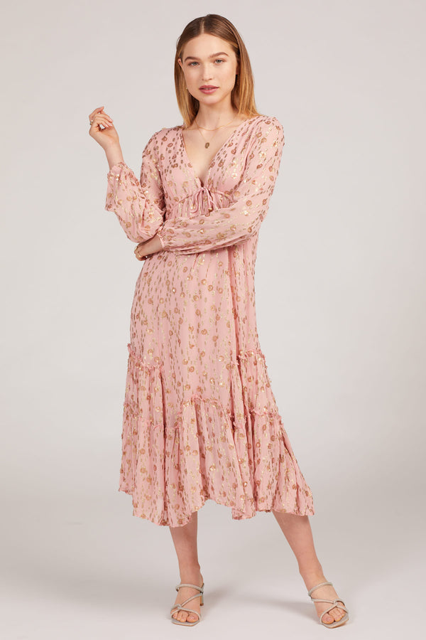 Pink Celina Maxi Dress