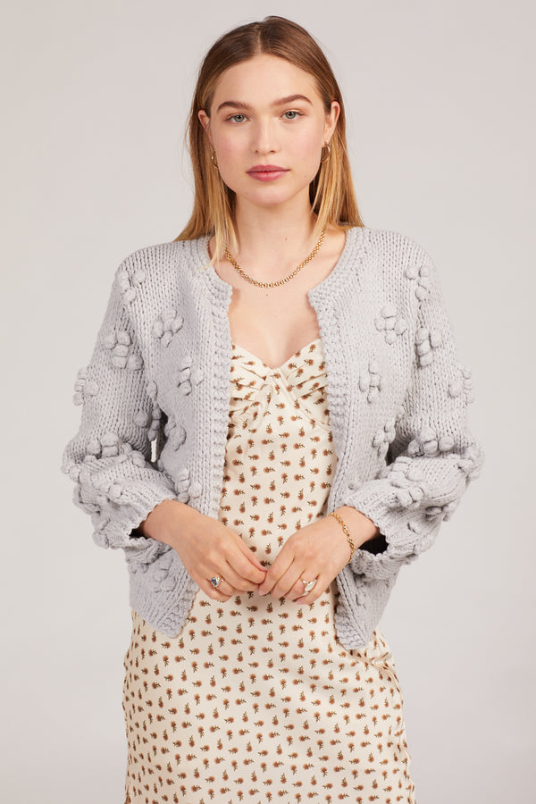 Grey Bisou Cardigan