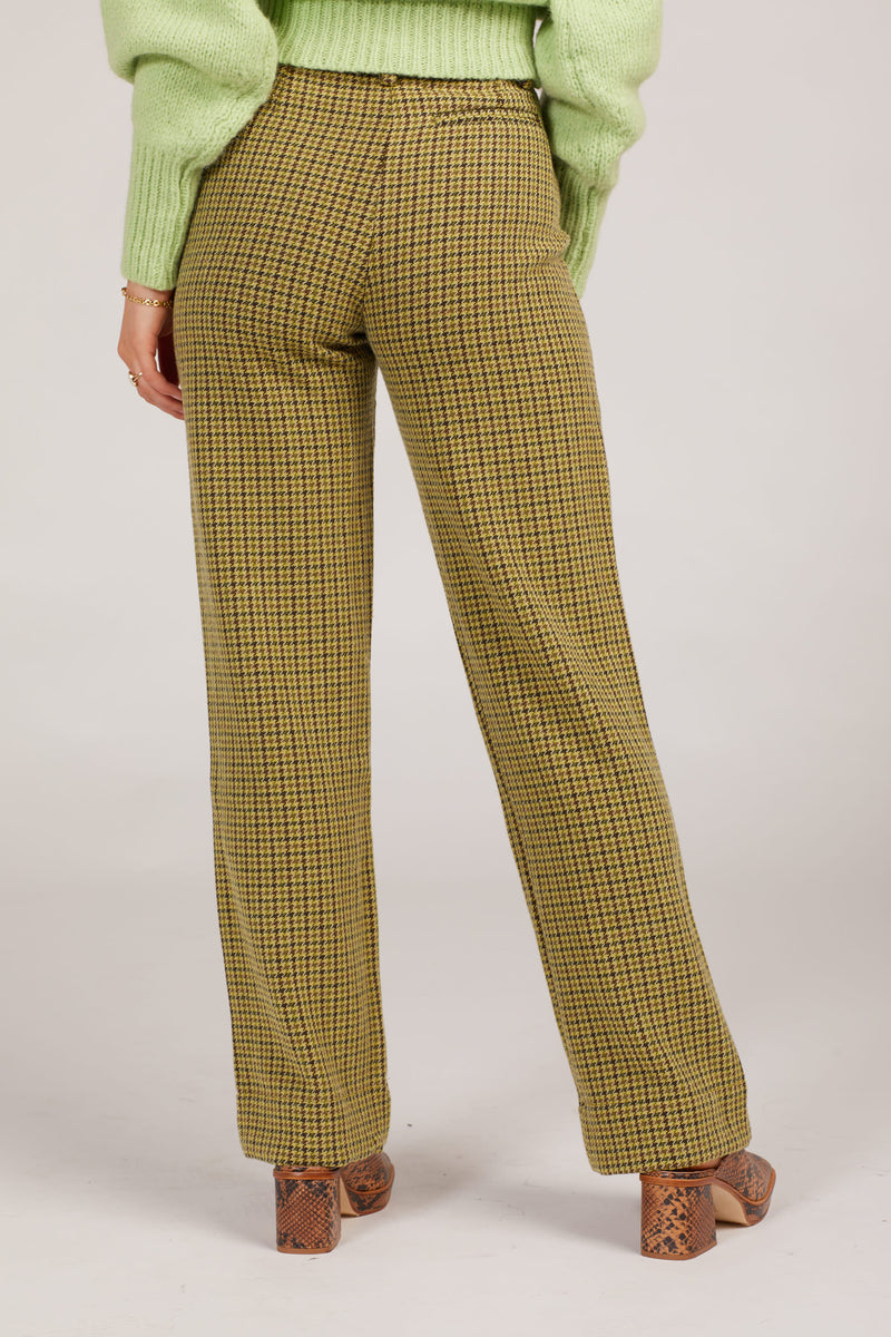 Green Castelbuono Trousers