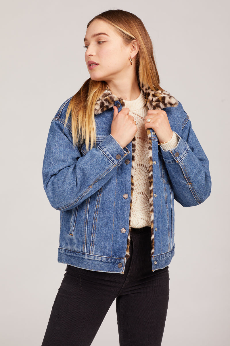 Cat Eye Trucker Jacket