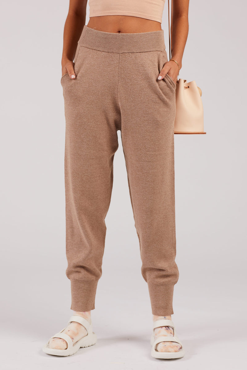 Taupe Jogger Pants