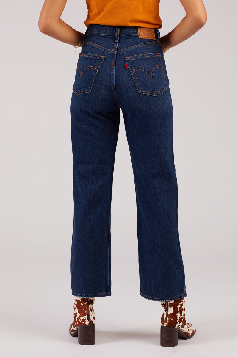 Standing Steady Ribcage Straight Jeans