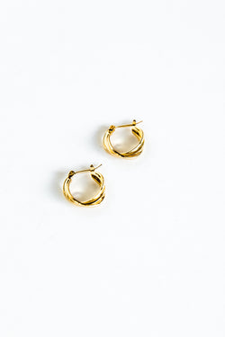 Gold Ellie Earrings