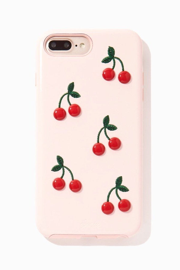 Patent Cherry iPhone Case