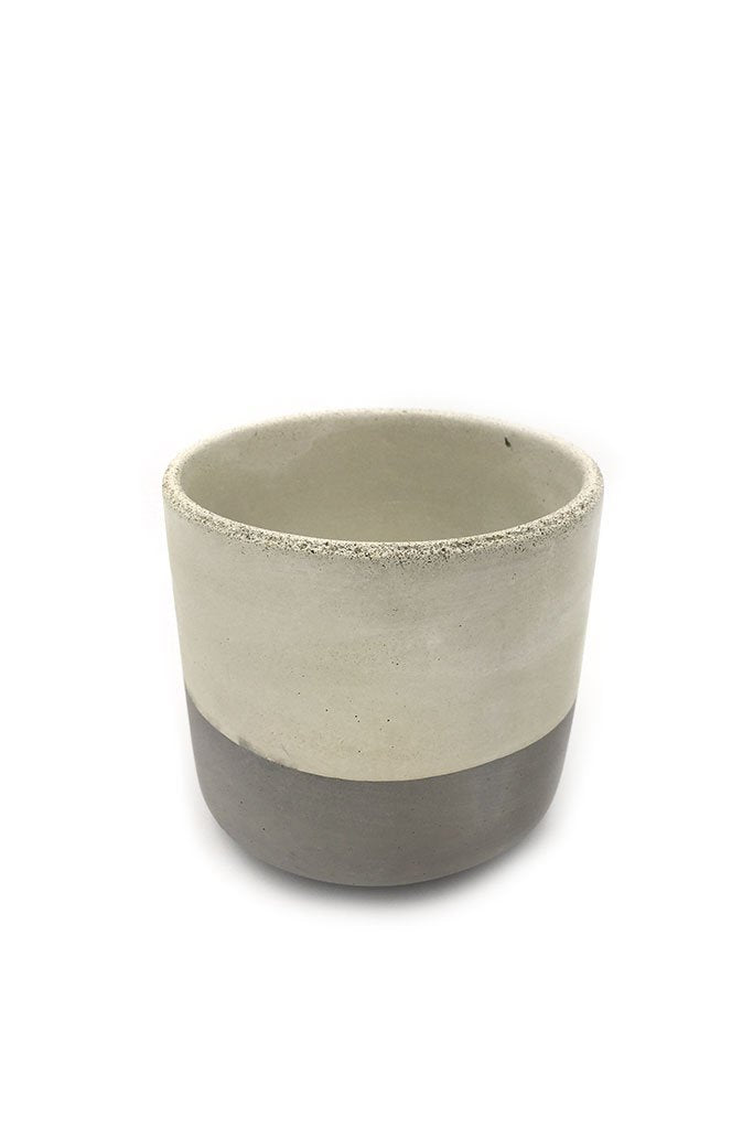 "Light Gray Flip 4"" Straight Sided Pot"